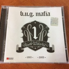 CD hip hop B.U.G. Mafia Viata Noastra Vol. 1 (2006) , RAR !, cat music