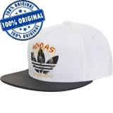 Sapca Adidas Originals Iaia - sapca originala - flat brim, Marime universala, Alb