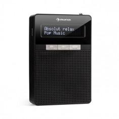 Auna DigiPlug DAB, radio, DAB+, FM/PLL, BT, ecran LCD, negru