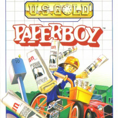 Joc SEGA Master System Paperboy