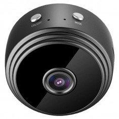 Mini Camera Spion iUni A9, Wireless, Full HD 1080p, Audio-Video, Night Vision