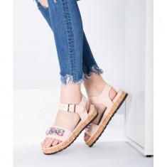 Sandale cu talpa groasa 39 Roz