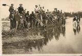 Fotografie militari romani digul Silian 1939 poza veche