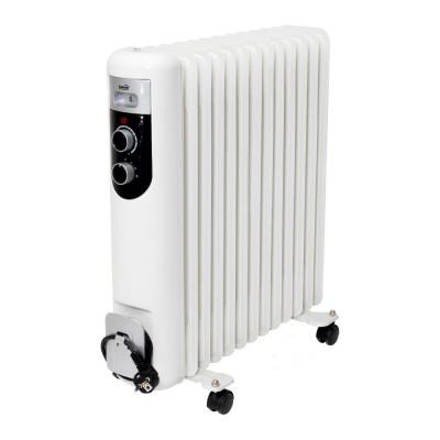 Radiator cu ulei, 13 elementi, 230V, 2500W, protectie supraincalzire, Home foto