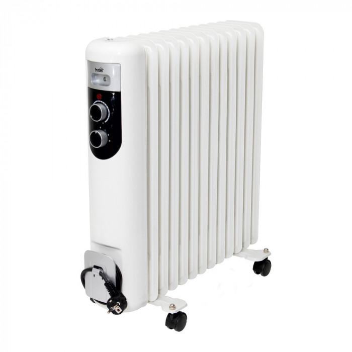 Radiator cu ulei, 13 elementi, 230V, 2500W, protectie supraincalzire, Home