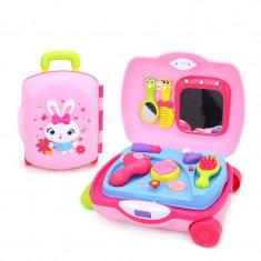 Set troler pentru coafat cu accesorii Hola Toys