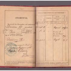 Livret Militar 1891 - Regimentul 1 Geniu, Compania 9 Cai Ferate,