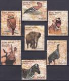 Cumpara ieftin DB1 Fauna Guineea Elefant Rinocer Zebra Puma Pupaza set MNH, Nestampilat