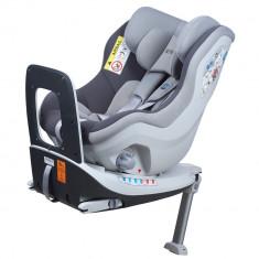 Scaun auto Rear Facing rotativ Tiago 0-18 kg gri KidsCare for Your BabyKids