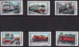 B1132 - Romania 1987 - Locomotive 6v.neuzat,perfecta stare