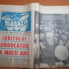 magazin 27 ianuarie 1973-ziua de nastere a lui ceausescu,inter.valentin stanescu