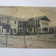 Techirghiol,carte postala circulata 1924, Printata