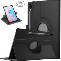 Husa Rotativa Samsung Galaxy Tab S6 10.5 T860 T865 2019 - Neagra