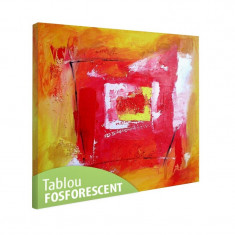 Tablou fosforescent Fereastra abstracta