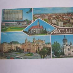 Carte postala - Cluj Napoca, colaj, Necirculata, Fotografie