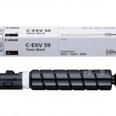 Toner canon c-exv59b black capacitate 30k pagini pentru ir 2625i/2630i/2645i.