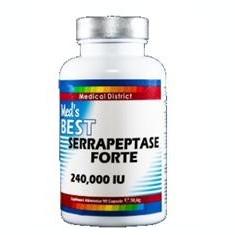 Best Serrapeptase Forte 240 000 IU Medical District 90cps Cod: med28
