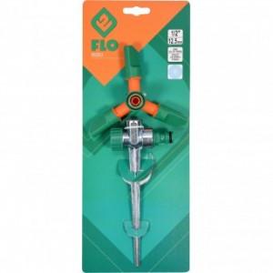 Aspersor metalic cu 3 brate, Flo 89263
