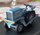 Macheta tractor Bauche Pousse Wagons - 1957 scara 1:43