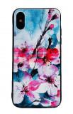 Toc TPU+PC UV Print 3D Samsung Galaxy A30s Flowers