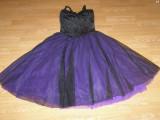 Costum carnaval serbare rochie dans gala pentru adulti marime M, Din imagine