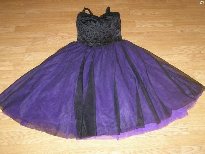 costum carnaval serbare rochie dans gala pentru adulti marime M