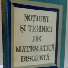NOTIUNI SI TEHNICI DE MATEMATICA DISCRETA , 1985