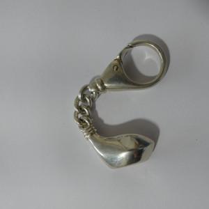 Breloc argint Golf -2592