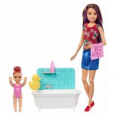 Cumpara ieftin Papusa Barbie Mamica Satena Cu Bebelus