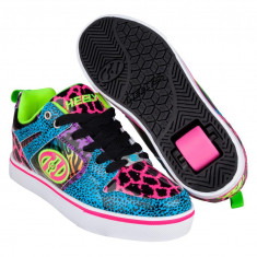 Heelys Motion 2.0 Cyan/Pink/Purple/Animal Print