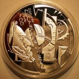 A.740 GERMANIA DEUTSCHES MUSEUM 10 EURO 2003 D PROOF ARGINT .925/18g