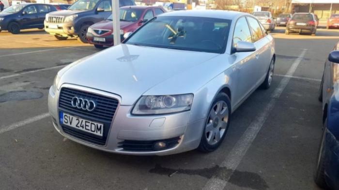 Vând sau schimb Audi A6 C6 2.4 V6 benzina