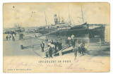 4805 - BRAILA, Harbor, Ships, Romania - old postcard - used - 1906