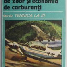 Tehnici moderne de zbor si economia de carburanti – Traian Costachescu