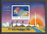 Romania.1972 Olimpiada de vara MUNCHEN-Bl. nedantelat  XR.256, Nestampilat