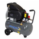 Cumpara ieftin Compresor cu piston Stager HM2024F, 24 L, 8 bar, 200 l min, 2 CP, monofazat