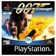 The world is not enough  007  - PS1 [Second hand], Multiplayer, Actiune, Toate varstele