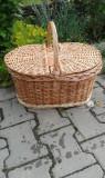 Coş picnic cu 2 capace