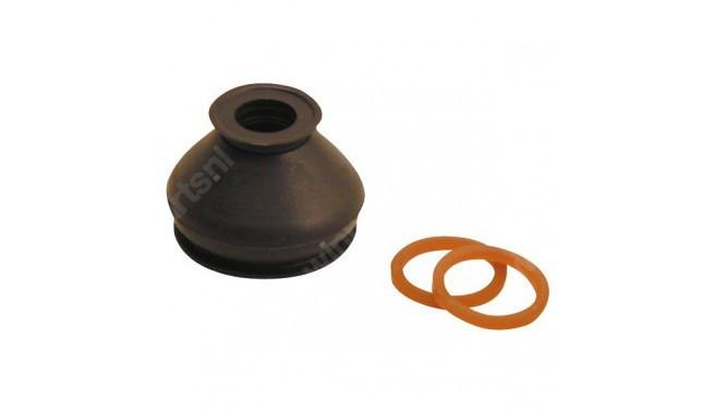 Burduf pivot 37X15mm cu inele PU flexibile burduf rotula WOMI
