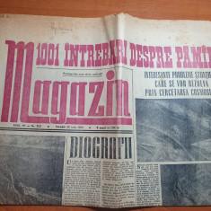 magazin 20 iulie 1963-articol despre turul frantei,teatrul din sibiu