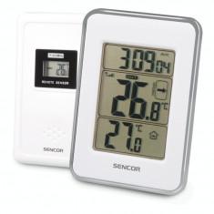 Termometru wireless Sencor SWS 25 WS White / Silver