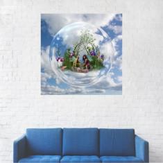 Tablou Canvas, Natura din bol - 20 x 20 cm