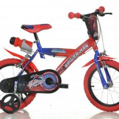 Bicicleta copii 14 '' Spiderman PlayLearn Toys