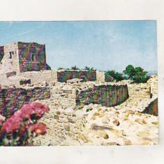 Bnk cp Suceava - Cetatea de Scaun - Vedere - uzata, Necirculata, Printata