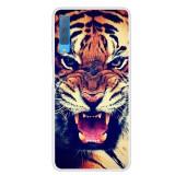 Cumpara ieftin Carcasa Husa Samsung Galaxy A7 2018 Model Tiger, Antisoc + Folie sticla securizata Samsung Galaxy A7 2018 Tempered Glass Viceversa