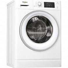 Masina de spalat cu uscator Whirlpool FreshCare+ FWDD1071681WSEU, 10 kg spalare, 7kg uscare, 1600 RPM, Display LCD, Clasa A, Alb
