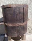 Masura veche din lemn pentru cereale 20 l