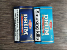 Tutun pentru rulat Drum Original Drum Bright Blue 50 grame-cititi descrierea foto