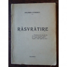 Rasvratire - Dolores Stanescu