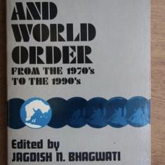 Jagdish N. Bhagwati - Economics and world order from the 70ies to 90ies - studii